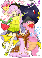 + Pokemon trainer Seika +