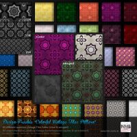 80 PS CS+ Colorful Vintage Floor Tiles Pattern by Hexe78