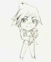 :R: Steven sketch chibi by XMireille-chanX