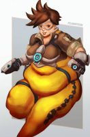 Fat Tracer - Overwatch Plumps by Plumpchu