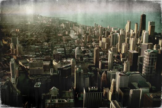 Chicago Distress by DangerousDigital