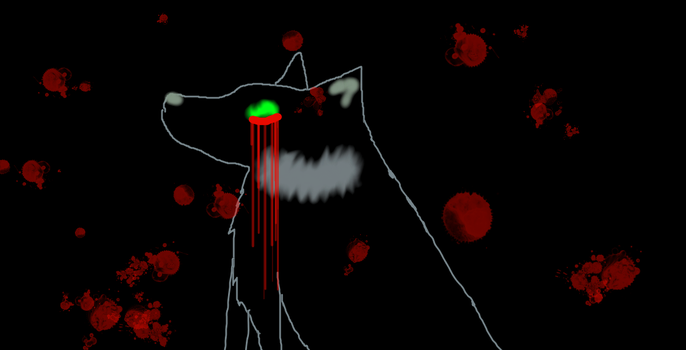 Evil death wolf by monkeyquest
