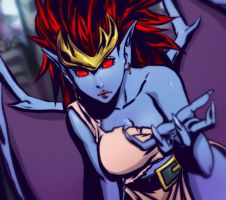 Gargoyles Demona by EricMartinDOOD