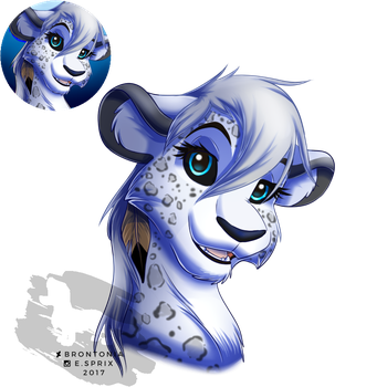 Khione Bust Commission by Brontonia