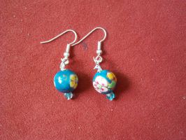 Bead Earings 1 by thepapercraftcouple