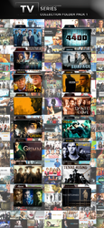 TV Shows Folder Icon Pack 1 by wchannel96