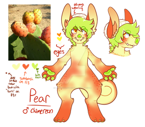 PEAR! {Approved MYO Chimereon} by ZodiacCloud