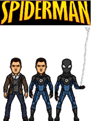 what if:reed richards as spider-man by doctorstrange7