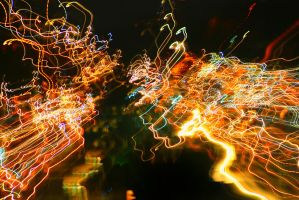 Electric Lights  *Stock Image* by rmh7069