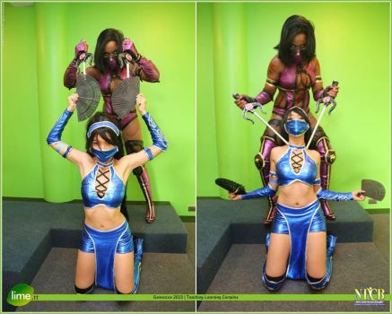 Mileena Cosplay: Finish Her! by LyonegraCostuming
