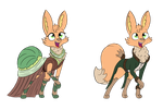 Fen's Fancy Outfits by PegasusJedi