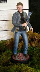 Dean Winchester sculpture from Supernatural by HRZONE2