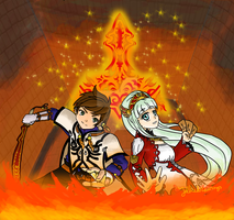 TOZ - Flaming bonds are being tested by Jelkedrawings