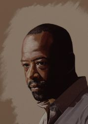 Morgan TWD by garrypfc