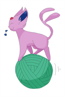 I came in like a thread ball by SilverStrangequark