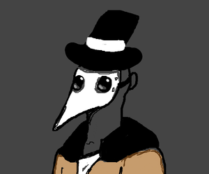 Plague Doctor Casual by LifeDragon17