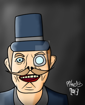 High Rankin Caricature by WritealltheWords