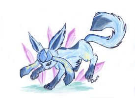 Glaceon by Celesime