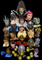 Overwatch by realgrantin