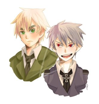 England + Prussia by book-sage