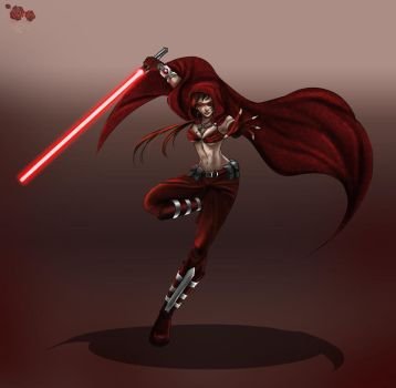 Sith Girl _Commission_ by TyrineCarver