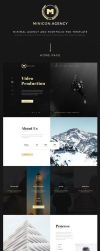Minicon HTML and PSD Template by themerboy