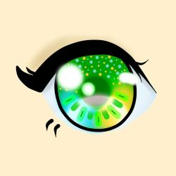 Green Eye - Practice by Miss-Yola