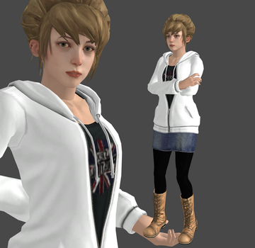 Kate Casual Meshmod By LLHX (download) by LingLostHappinesXiao
