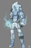 Mr. Freeze Redesign commission by phil-cho