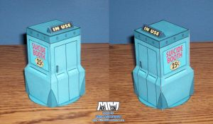 Futurama Suicide Booth Assmbld by billybob884