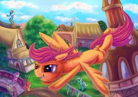 Com: Scootaloo by erovoid