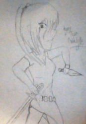 Agony (uncolored) from Gothlyfe by hinata1star