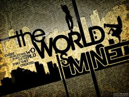 the world is mine by ygt-design