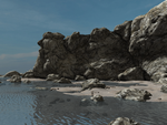 Secluded Shoreline by Realmgal