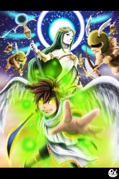 Palutena's Army by Pdubbsquared