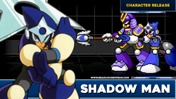Shadow Man - CFAS Mugen Project by OIlusionista