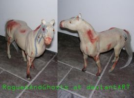 Cyborg zombie horse by RoguesAndGhosts