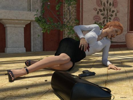 Agent down... by freemike07