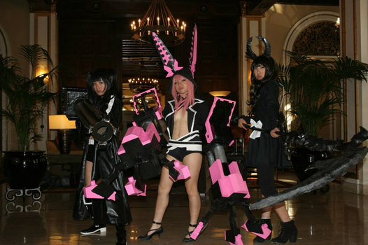 BRS, XNFE, dead master cosplays by AoiKatori