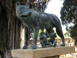 Spain T30 Romulus and Remus by Gwathiell