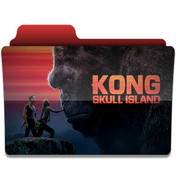Kong Skull Island folder icon V2 by PanosEnglish