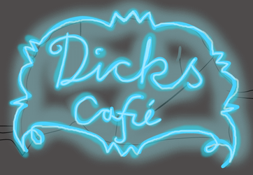 Dick's Cafe by periru3