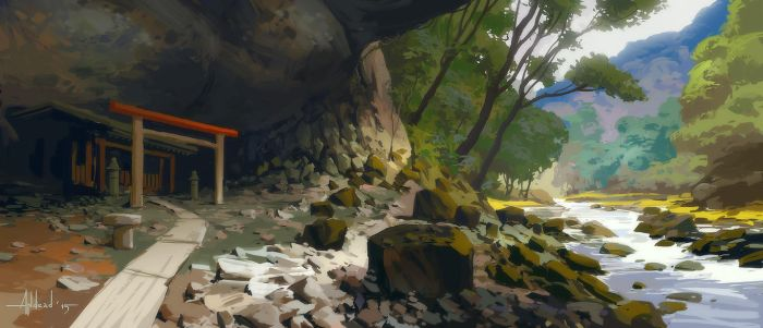 Virtual Plein Air 3 by Andead