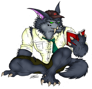 Student Warwick by BlueWolfArtista