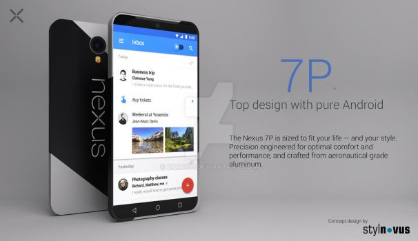 NEXUS 7P Concept by zaur191