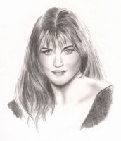 Lucy Lawless by valraven