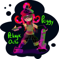 Octoling: Peggy by illus-D-Ente