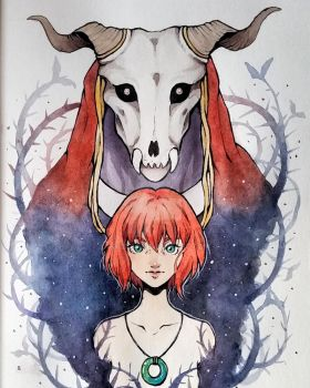 The Ancient Magus' Bride Fanart by Ross-86