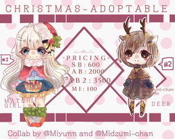 Christmas adopt Set priced [1/2OPEN] by Miyunn