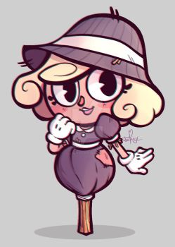 CupHead Oc - Cute Scarecrow by Call-Me-Fantasy